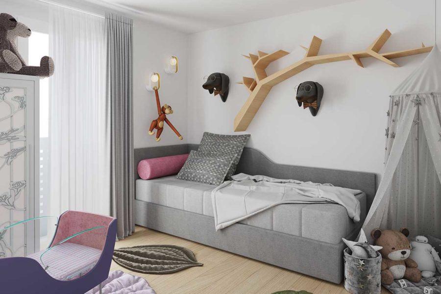 Vista cameretta Appartamento15
